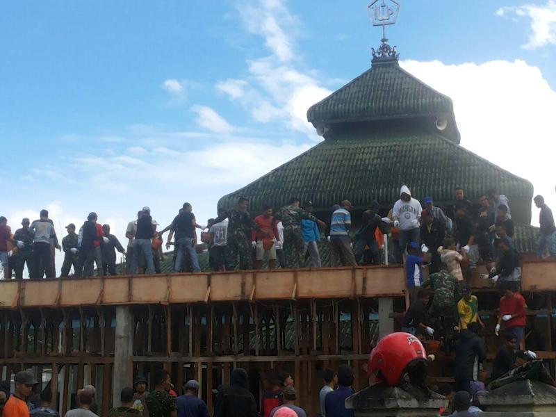 Budaya Gotong Royong Selalu Ada di Wamena