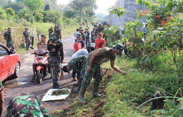 Divif 2/Kostrad Bersama Masyarakat Gelar Persiapan Lomba Lari Cakra Run