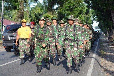 Tingkatkan Kemampuan Olah Keprajuritan, Korem 022/PT Gelar Hanmars