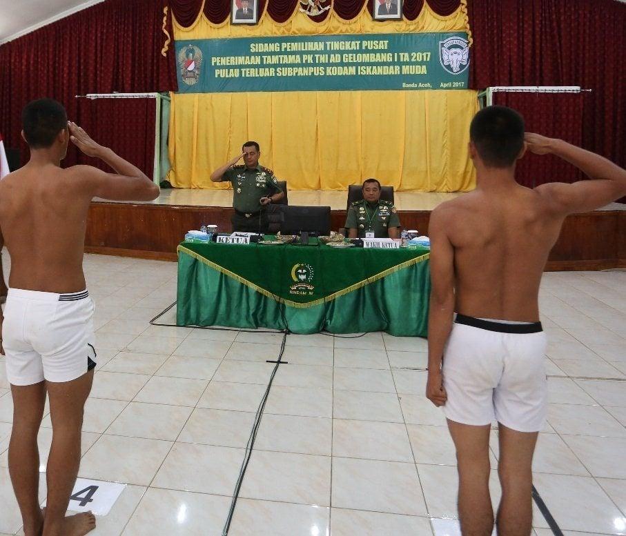 Tingginya Animo Pemuda Pulau Terluar Aceh Menjadi Prajurit TNI AD