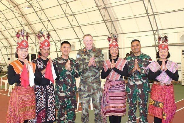 Tarian Kecak Bali Dan Tari Ja'i NTT Memukau Komandan Pasukan PBB