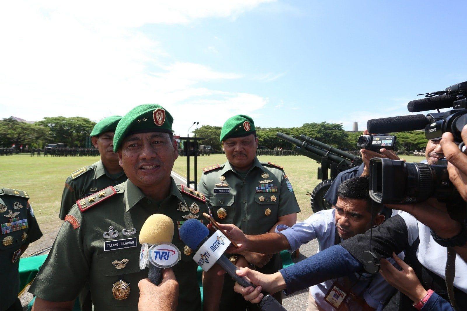 Mayjen TNI Tatang Sulaiman : Kebersamaan Kunci Membangun Profesionalitas Prajurit.