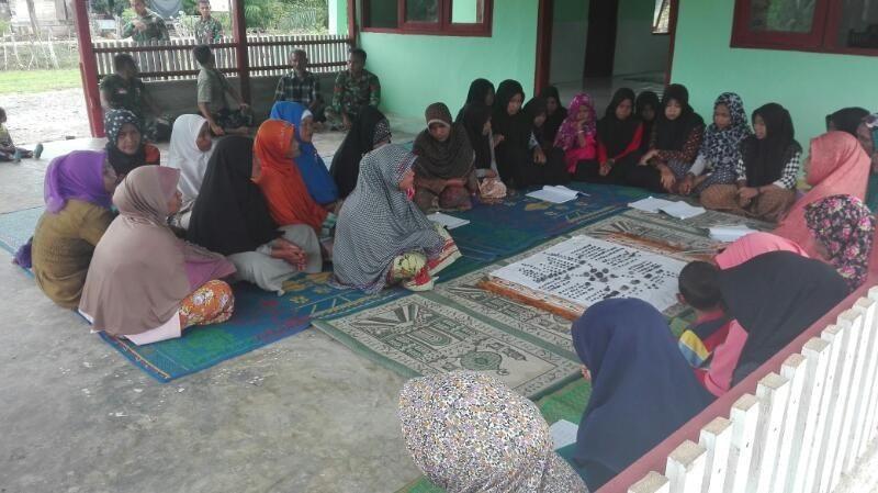 Satgas TMMD Kodim 0105/Abar Jalin Silaturahmi Melalui Penerapan Syariat Islam