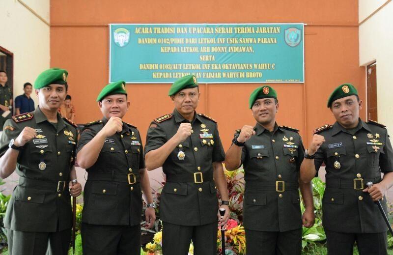 Serah Terima Jabatan Bagian Dari Dinamika Pembinaan Personel