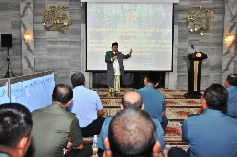 Peringatan Isra' Mi'raj Nabi Muhammad SAW 1438 H di Mabes TNI