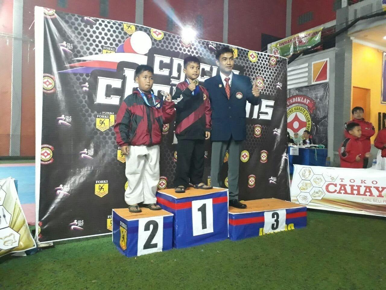Karateka Yonif Raider 303/Kostrad Ukir Prestasi Pada CG Cup 2017