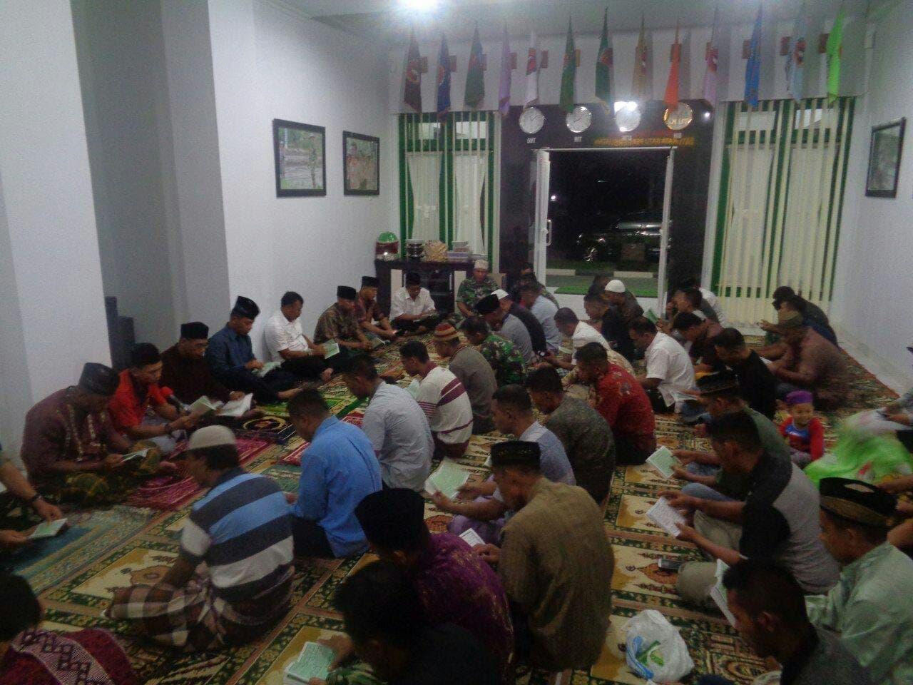 Korem 142/Tatag Gelar Doa Bersama Untuk Keselamatan dan Kesuksesan Kodam XIV/Hasanuddin