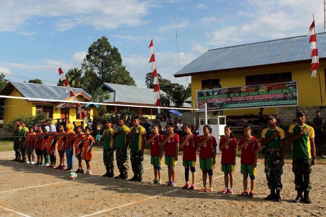 Mengolahragakan Masyarakat di Wilayah Perbatasan Kalimantan