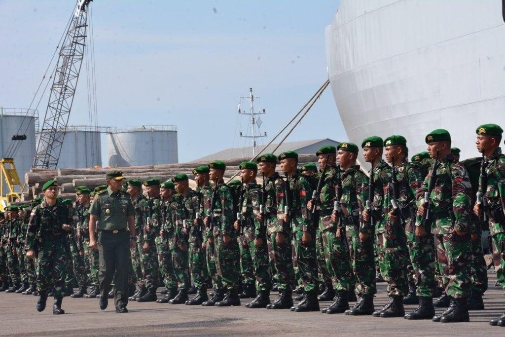 Suatu Kebanggan, Prajurit TNI Menjaga Wilayah Perbatasan RI-Papua Nugini