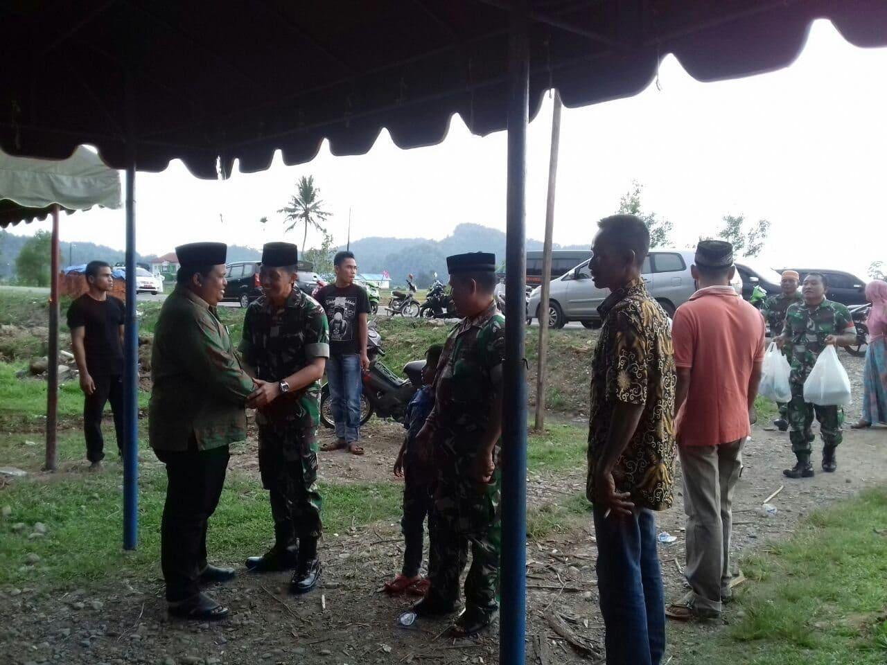 Dandim 0114 Ucapkan Bela Sungkawa Wafatnya Orang Tua Wakil Bupati Aceh Jaya