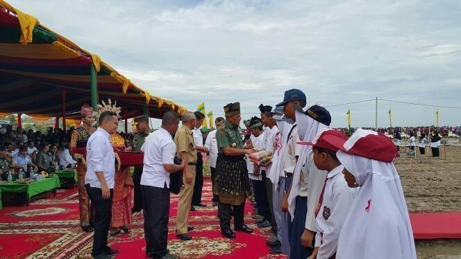 Panglima TNI : Penanaman Padi Dan Jagung Tingkatkan Swasembada Ketahanan Pangan