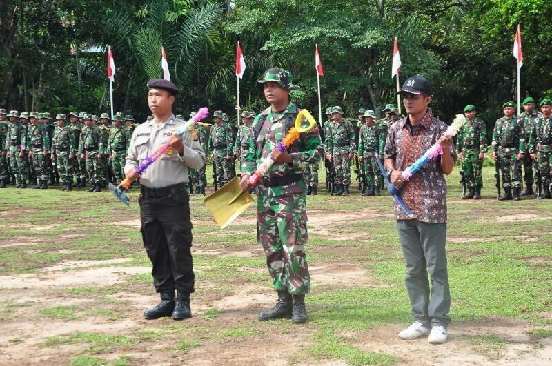 TMMD Nagan Raya Merupakan Terobosan Pengabdian TNI Kepada Rakyat