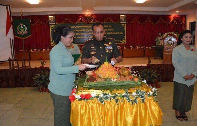 Danrem 172/PWY : Persit Terus Memacu Semangat Guna Mendukung Tugas Pokok TNI AD