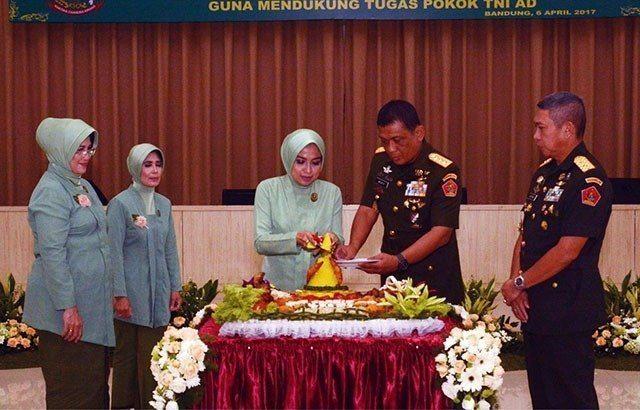 Persit KCK Berperan Besar Pada Keberhasilan Tugas TNI AD