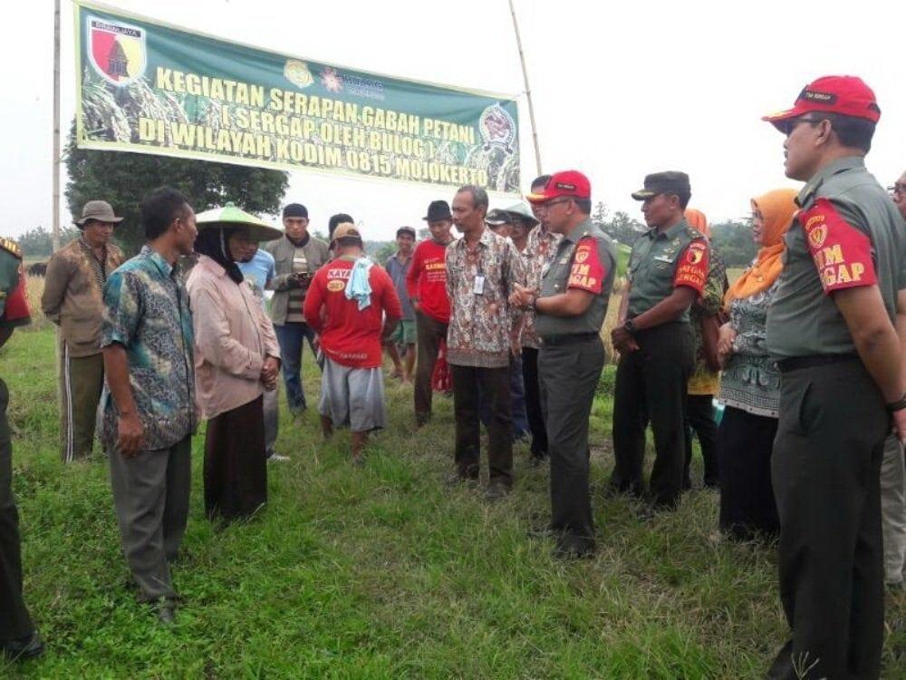 Tim Sergap Mabesad Kunjungi Wilayah Kodim 0815 Mojokerto