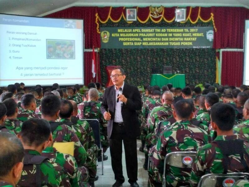 Komandan Satuan Harus Miliki Visi dan Misi Untuk Memajukan Satuan