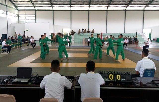Kejuaraan BDM Yong Moodo Bentuk Postur Prajurit Sportif Dan Tangguh