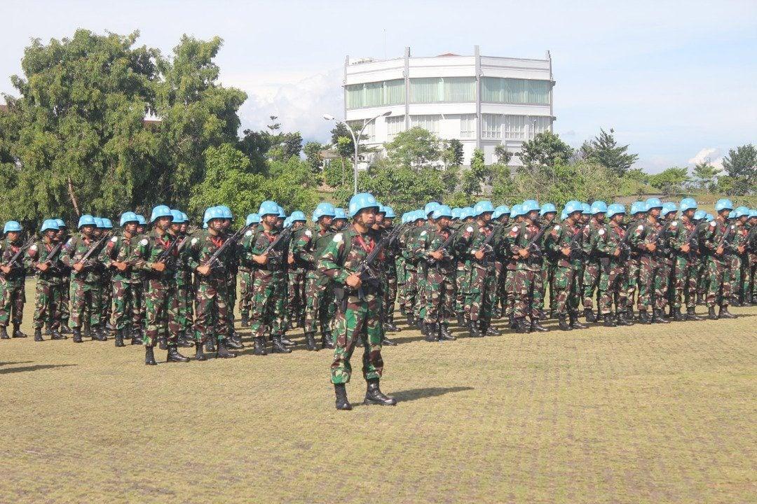 Dipercaya PBB,TNI Mampu Menjaga Perdamaian di Afrika