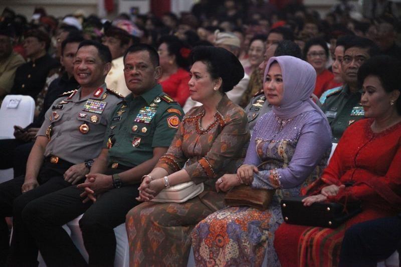 Panglima TNI Hadiri Perayaan Hari Raya Nyepi di Mabes TNI