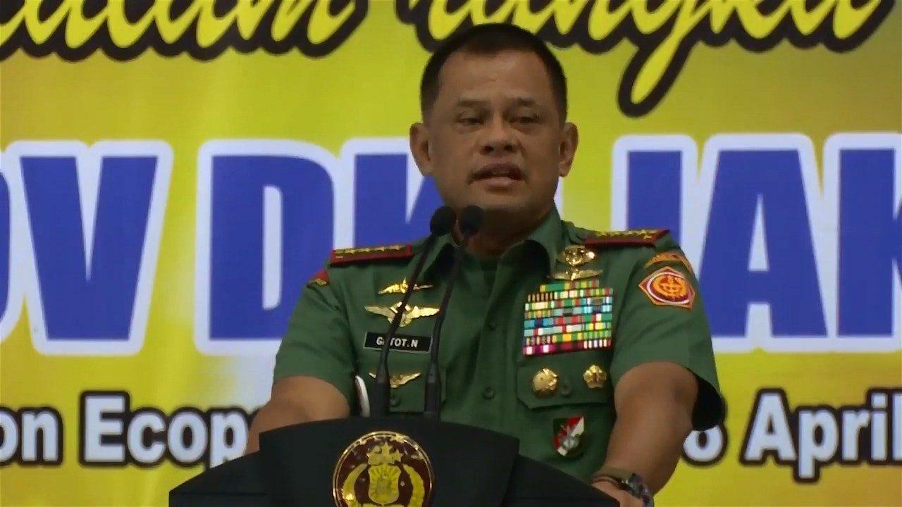 Pembekalan Panglima TNI Pengamanan Pilkada DKI Putaran Ke-2