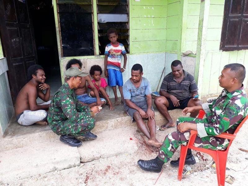 Mewujudkan Kemanunggalan TNI Rakyat Di Kampung Jagiro Melalui Komunikasi Sosial