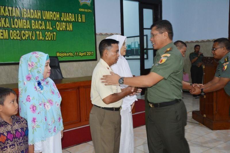Memberangkatkan Anggota Untuk Ibadah Umroh Merupakan Bentuk Perhatian Komandan Satuan