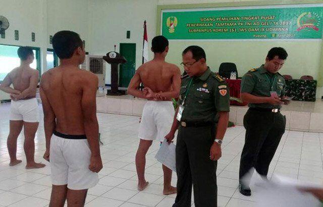 101 Calon Prajurit Tamtama Ikuti Sidang Pantuhir Wilayah Korem 161/Wira Sakti