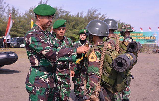 Latihan Pramuka Yudha Mutlak Dikuasai Seorang Perwira