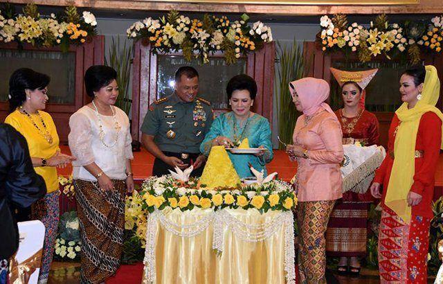 Panglima TNI: Dharma Pertiwi Harus Berpegang Pada Nilai-Nilai Budaya dan Jati Diri Bangsa