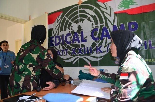 Menangkan Hati Masyarakat Lebanon, Tim Medis Indobatt Gelar Medical Camp