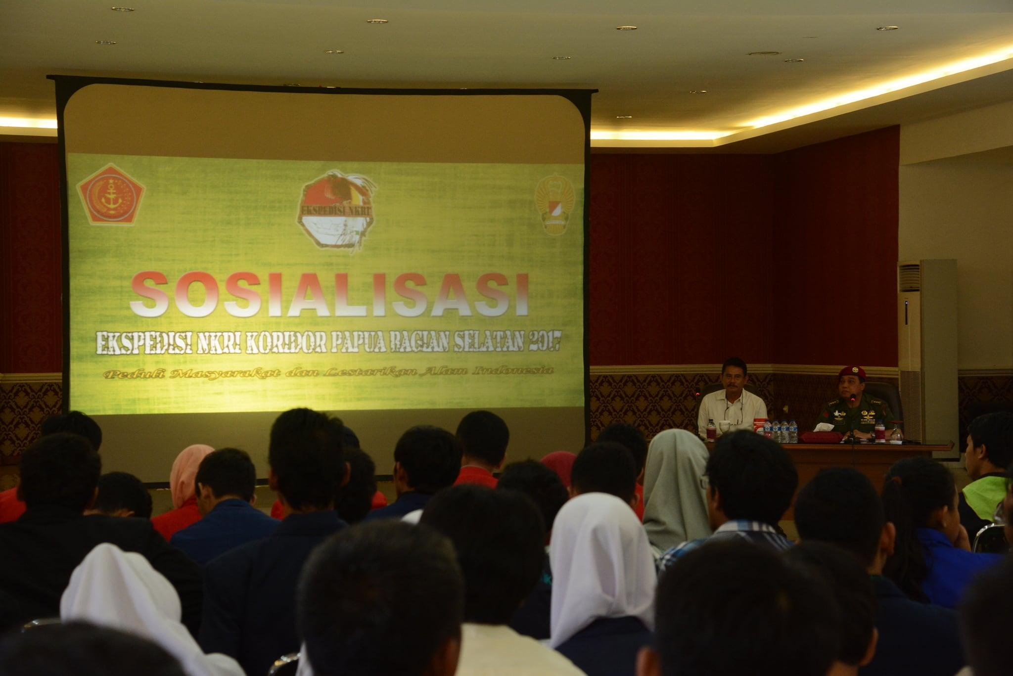 Kopassus Gelar Sosialisasi Ekspedisi NKRI 2017