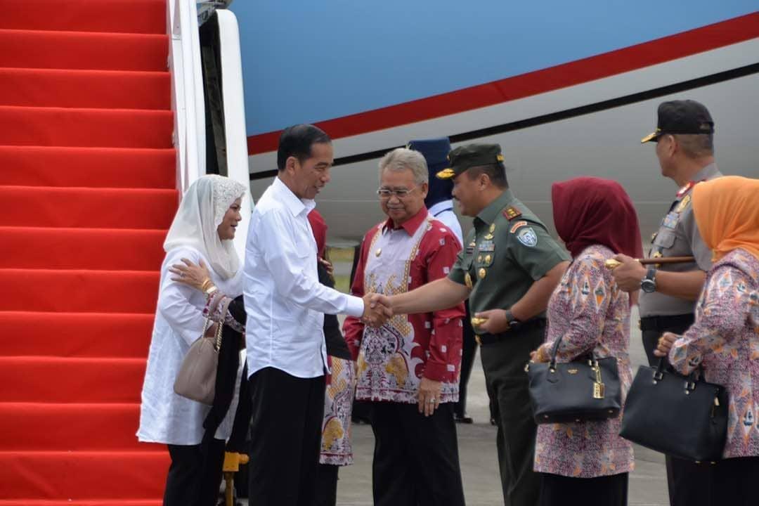 Presiden Joko Widodo Buka Penas KTNA ke-XV di Aceh