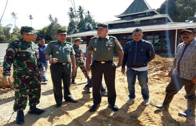 TMMD 98 Ditinjau Tim Mabes TNI AD