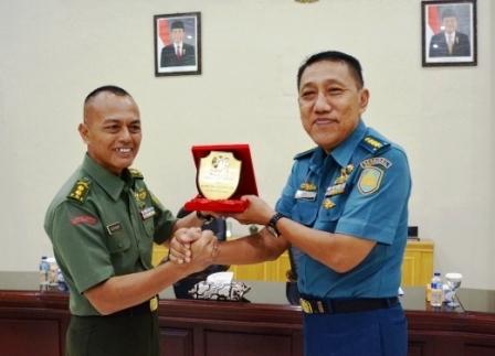 Pasis Seskoal Angkatan 55 Kunjungi Makorem 043/Gatam
