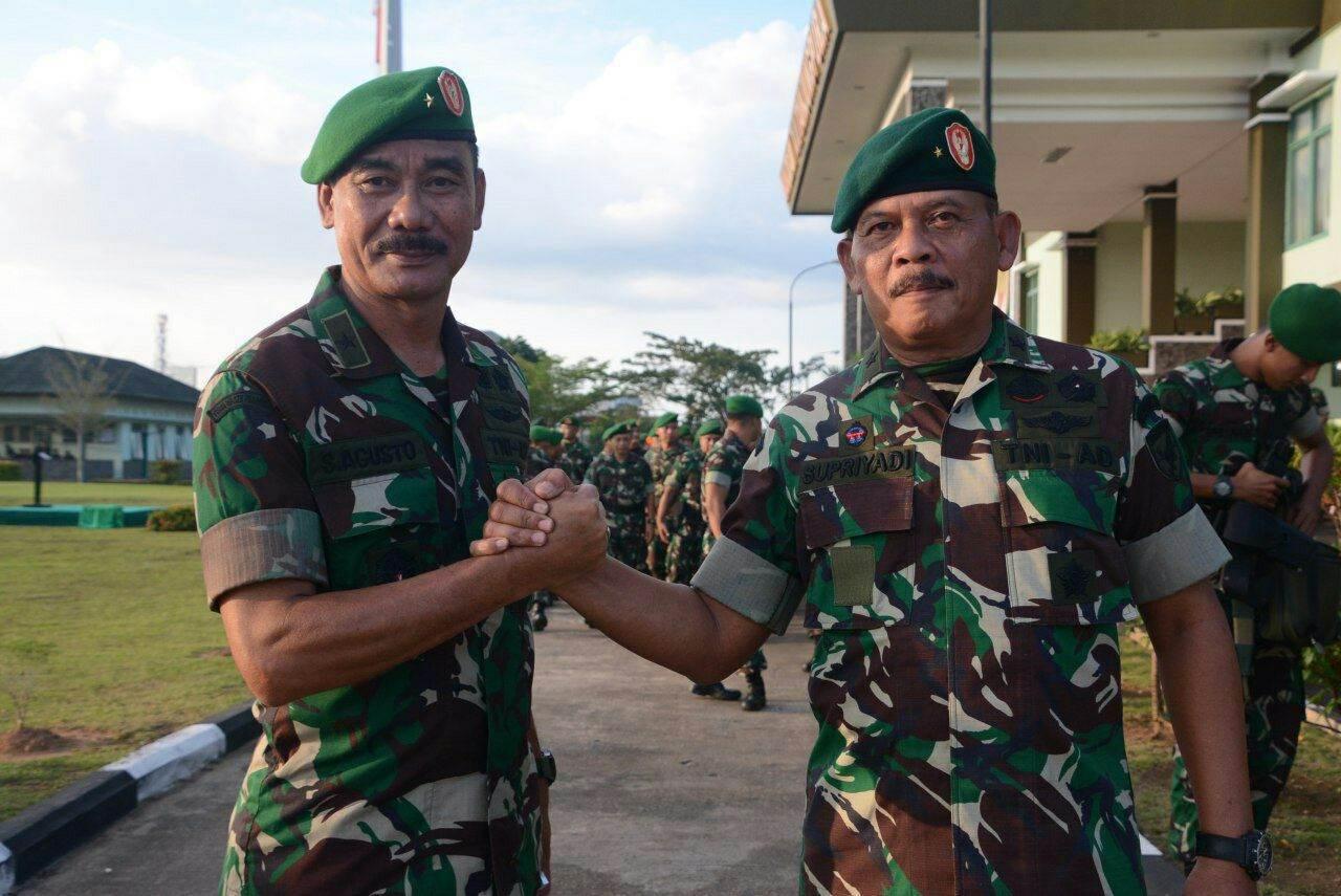 Brigjen TNI Sulaiman Agusto Resmi Jabat Kasdam XII/Tpr