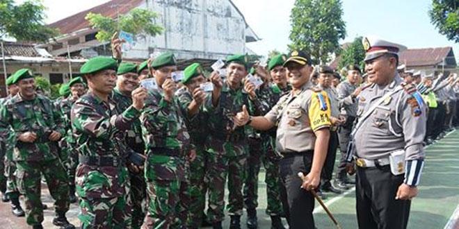 Wujudkan Soliditas, Polri Libatkan TNI dalam Operasi Patuh Candi 2017