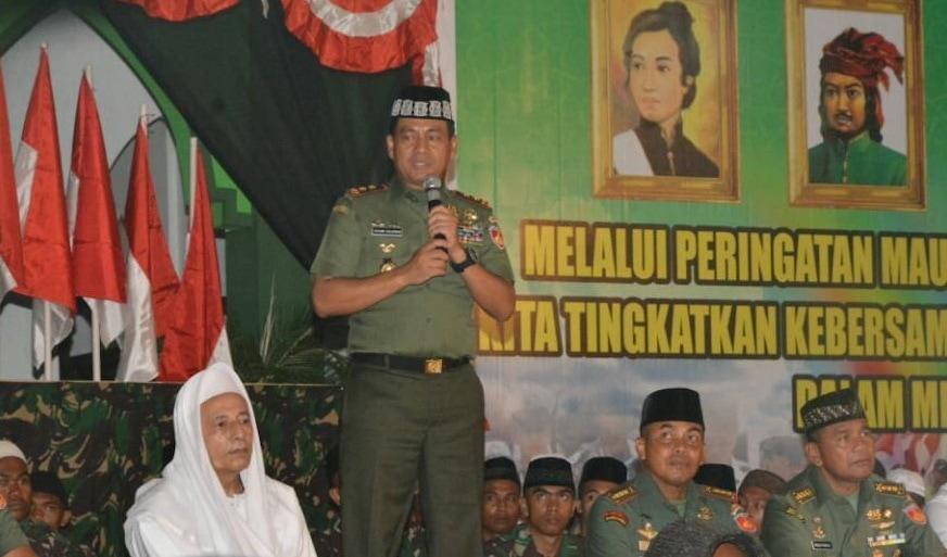 TNI dan Rakyat Bersatu Memiliki Kekuatan yang Luar Biasa