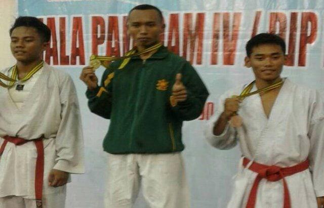 Kopda Saeful Ardi Antar Salatiga Juara Karate Open Piala Pangdam IV/Diponegoro