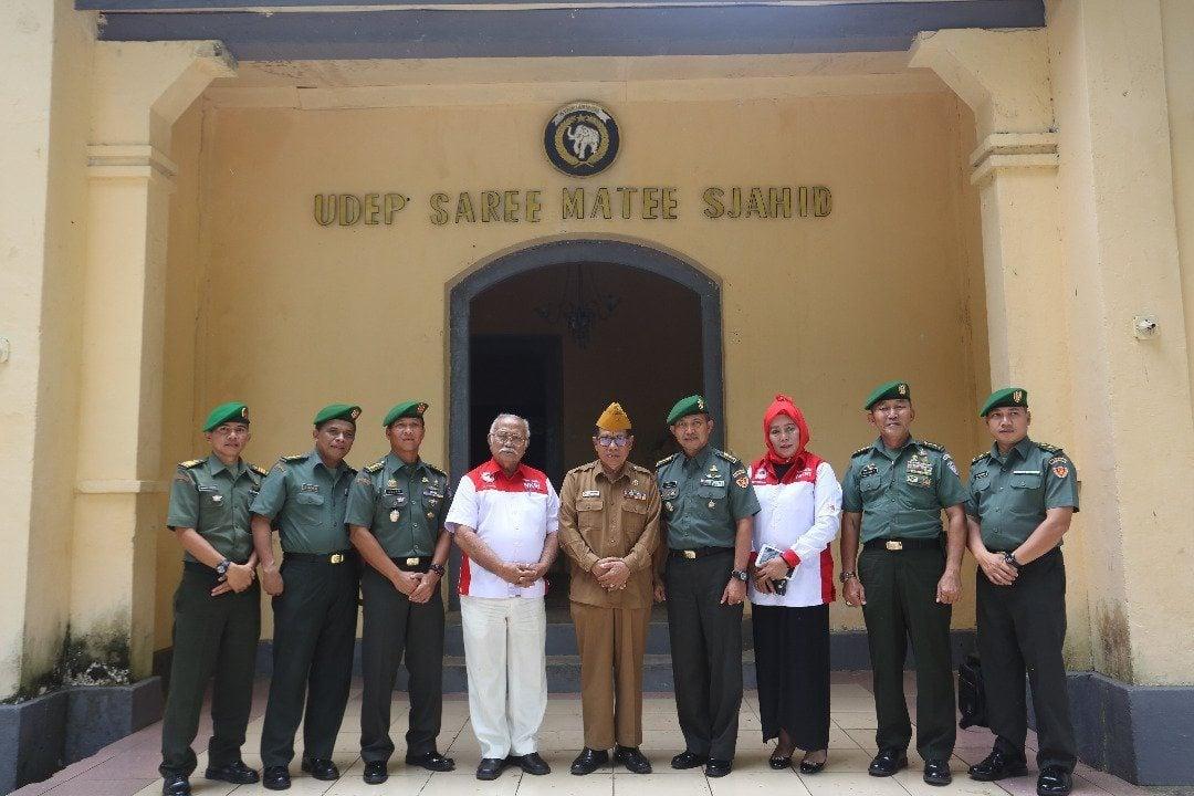 Himpun Dokumentasi Sejarah, Disjarah TNI AD Kunjungi LVRI Provinsi Aceh