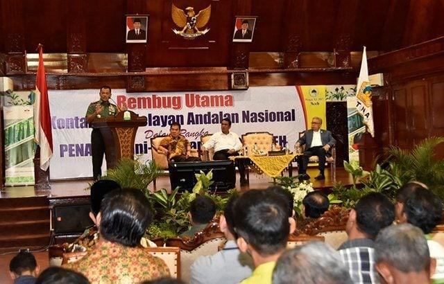 Pengarahan Panglima TNI kepada Petani dan Nelayan