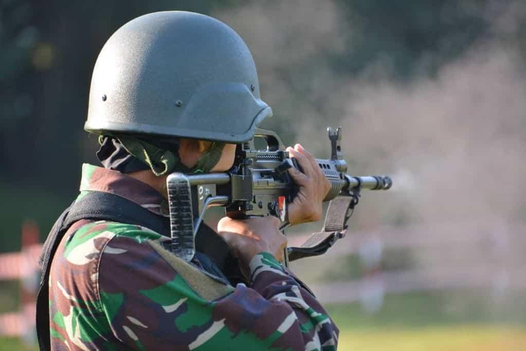 Materi Lomba Lintas Medan Dan Menembak Senapan Memasuki Hari Terakhir