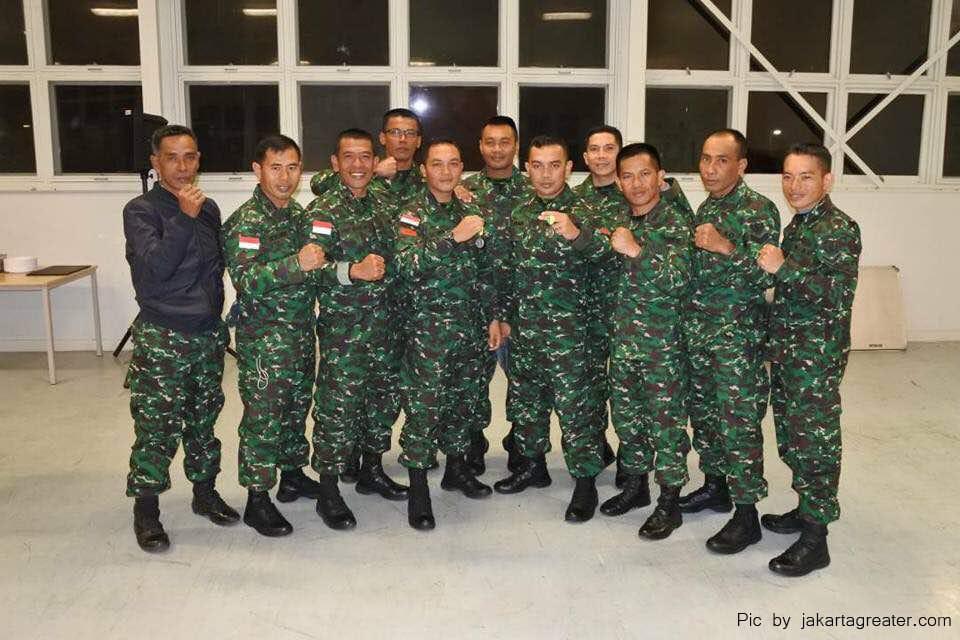 Kontingen TNI AD Masih Bertengger di Puncak Klasemen Umum AASAM 2017