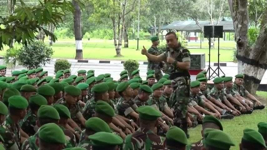 TNI AD Dipercaya Rakyat karena Prajurit Profesional dan Kompak