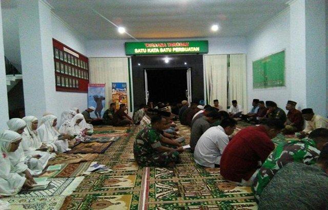 Doa Bersama Mengiringi Kesuksesan Ton Tangkas Yonif 721/Makkasau