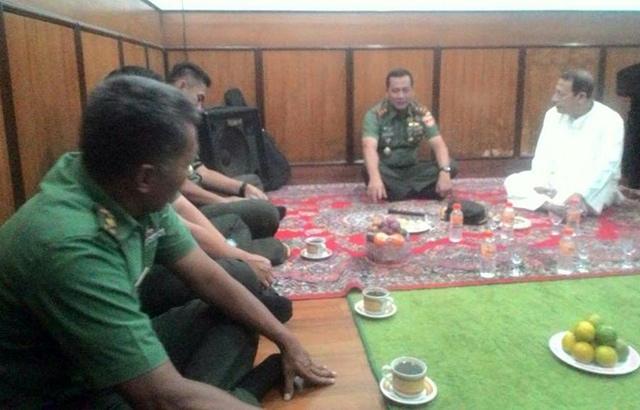 Mayjen TNI Tatang Sulaiman Kunjungi Habib Luthfy