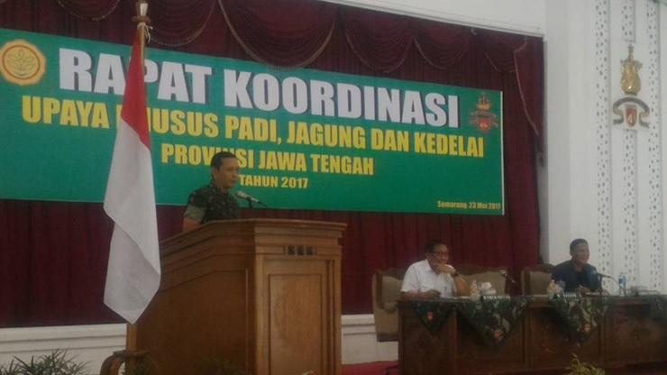 Kodam IV/Diponegoro Berkomitmen Dukung Swasembada Pangan