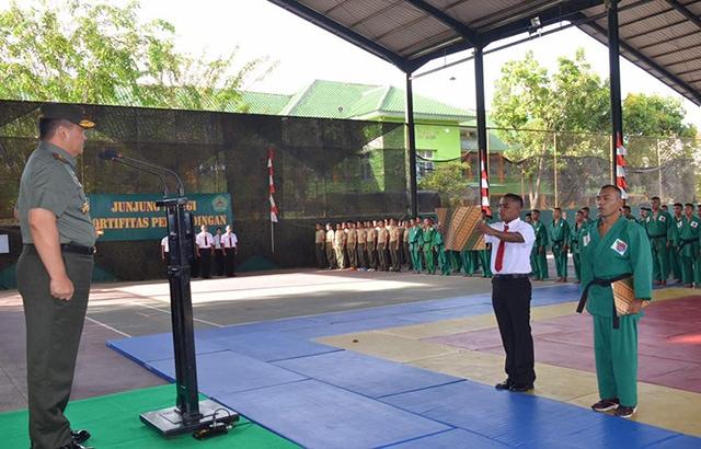 Gelorakan Semangat Bertanding dan junjung Sportifitas di Kejuaraan Yong Moodo
