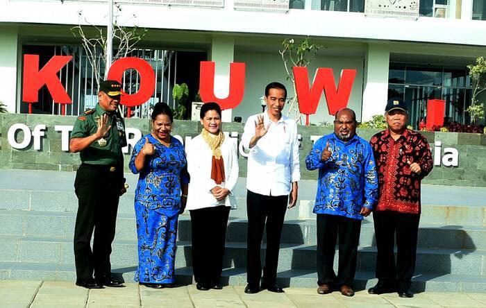 Presiden RI Resmikan PLBN di Papua