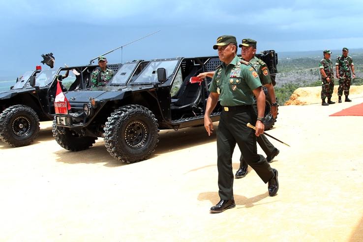 Panglima TNI Tinjau Geladi Bersih Latihan PPRC TNI