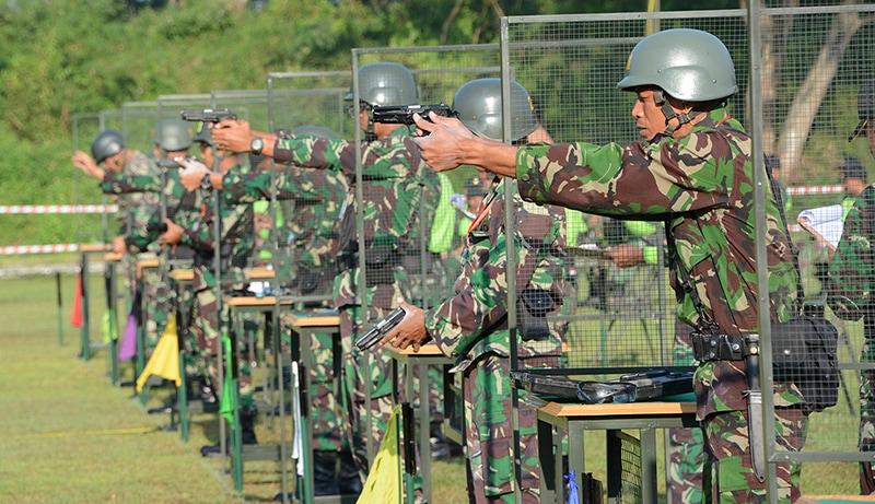 Lomba Menembak Pistol Ton Tangkas Periode I Tahun 2017